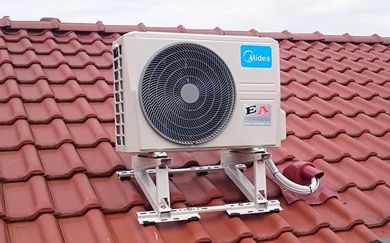 ea gruppe klimaanlagen ForKlimaanlage Dachmontage